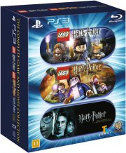 harry potter boks - komplet - lego harry potter 1-7, alle film samt 2 lego ps3 spil - Blu-Ray