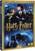 harry potter og de vises sten / harry potter and the philosopher's stone + dokumentar - DVD