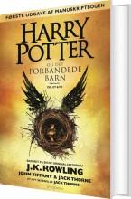 harry potter og det forbandede barn - bog 8 - bog