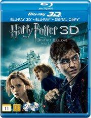 harry potter 7 og dødsregalierne / the deathly hallows - part 1 - 3D Blu-Ray