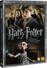 harry potter 7 og dødsregalierne / and the deathly hallows - part 1 + dokumentar - DVD