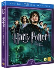 harry potter og flammernes pokal / harry potter and the goblet of fire + dokumentar - Blu-Ray