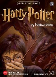 harry potter 5 - harry potter og fønixordenen - CD Lydbog