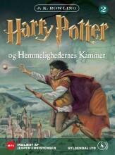 harry potter 2 - harry potter og hemmelighedernes kammer - CD Lydbog