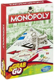 hasbro rejse monopoly - Brætspil