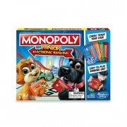 hasbro monopoly elektronisk bank - junior - Brætspil