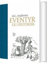 h.c. andersen eventyr og historier - bog
