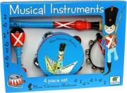 musikinstrumenter til børn med h.c. andersen motiv - den standhaftige tinsoldat - Kreativitet