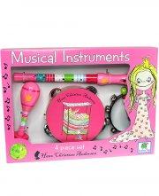 musikinstrumenter til børn med h.c. andersen motiv - prinsessen på ærten - Kreativitet