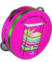 tambourine med h.c. andersen motiv - prinsesse - Kreativitet