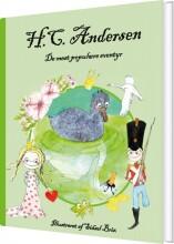 h.c. andersen - de mest populære eventyr - bog