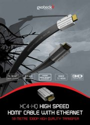 hdmi high speed 1.4 with full ethernet & 3d compatibility (gioteck) - Kabler