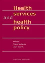 health services and health policy - bog