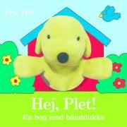 hej plet! en bog med hånddukke - bog