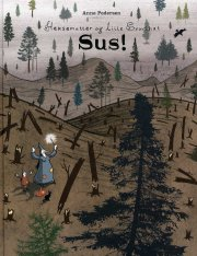 heksemutter og lille svovlhat - sus! - bog