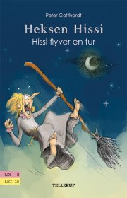 heksen hissi #4: hissi flyver en tur - bog