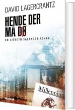 hende der må dø - millennium 6 - bog