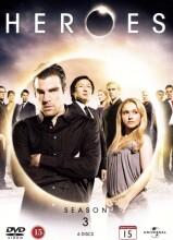 Image of   Heroes - Sæson 3 - DVD - Tv-serie