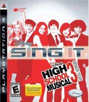 high school musical 3: sing it! - dk - PS3