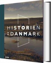 historien om danmark - bind 1 - bog