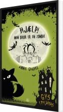 hjælp! min bror er en zombie - bog