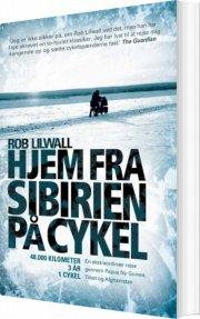 hjem fra sibirien på cykel - bog