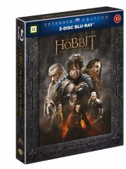 hobbitten 3 femhæreslaget / the hobbit 3 the battle of the five armies - extended - Blu-Ray