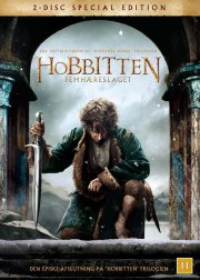 hobbitten 3 femhæreslaget / the hobbit 3 the battle of the five armies - DVD