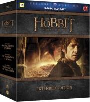 hobbitten trilogy - 1-3 extended - Blu-Ray