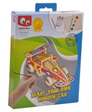 hobbysæt - køretøjer træ - Kreativitet