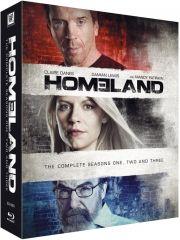 homeland - sæson 1-3 - Blu-Ray