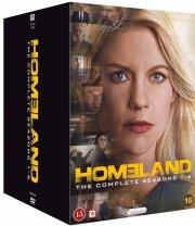 homeland: box - sæson 1-6 - DVD