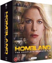 homeland - sæson 1-6 - Blu-Ray