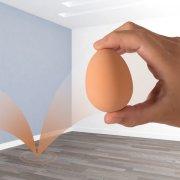 hoppebold - realistisk hoppende æg - Babylegetøj