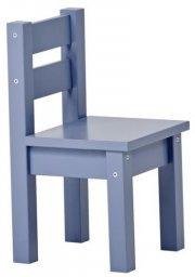hoppekids mads stol - 28 x 50 x 28 cm - dusted blue - Til Boligen