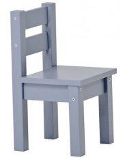 hoppekids mads stol - 28 x 50 x 28 cm - grey - Til Boligen