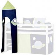 hoppekids - tårn til halvhøj seng - rummet - Til Boligen