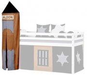 tårn til halvhøj seng med cowboytema - hoppekids - ø45 x 185 cm. - Til Boligen