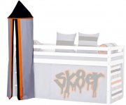 tårn til halvhøj seng med skatertema - hoppekids - ø45 x 185 cm. - Til Boligen
