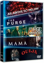 mama // the purge 1 // the purge 2 // as above so below // ouija - DVD