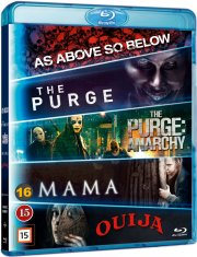 mama // the purge // the purge 2 // as above so below // ouija - Blu-Ray