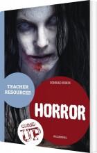 horror - teacher resources - bog