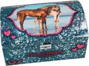 horses dreams smykkeskrin - blå - Kreativitet