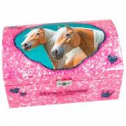 horses dreams smykkeskrin - lyserød - Kreativitet
