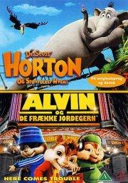 horton og støvfolket hvem / alvin og de frække jordegern - DVD