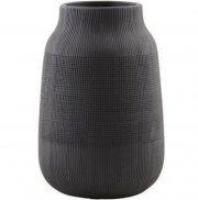 house doctor vase - groove - lille - sort - Til Boligen