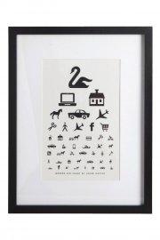 house doctor - the eye chart picture () - Til Boligen