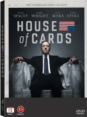 house of cards - sæson 1 - DVD
