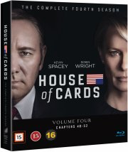 house of cards - sæson 4 - Blu-Ray