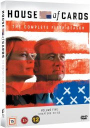 house of cards - sæson 5 - DVD